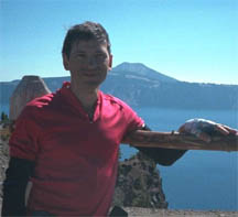 Uploaded Image: AndrewAtCraterLake.jpg